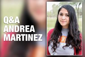 Andrea Martinez, communication senior