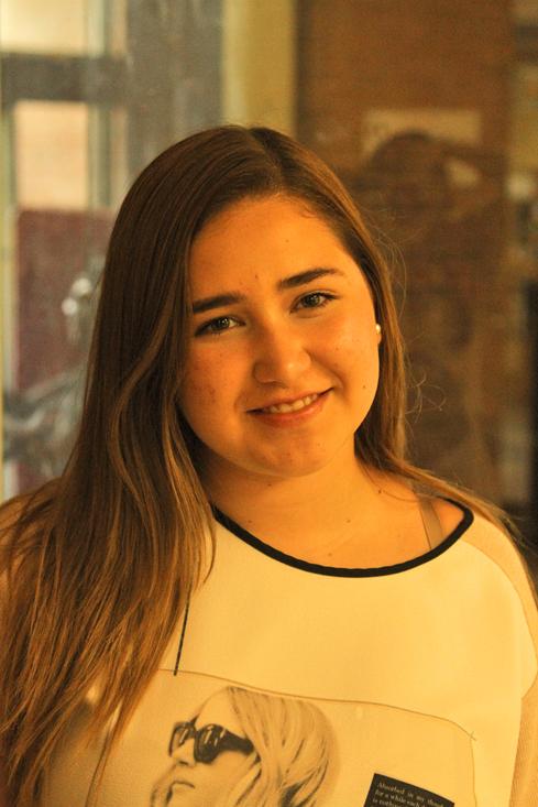 Gabriela Gonzalez Pre-communication disorders sophomore