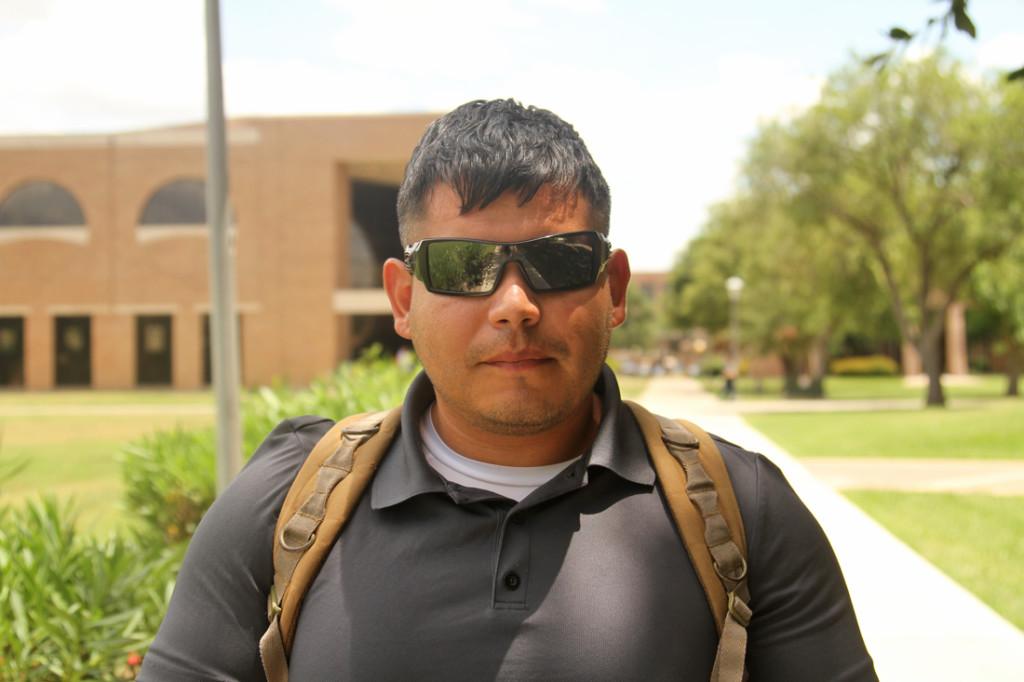 Javier Garza Criminal justice junior