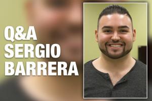 Sergio G. Barrera, estudiante de posgrado en estudios Mexico-Americano
