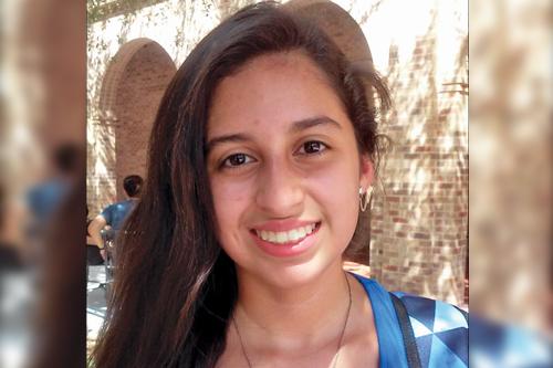 Cristina Rivas Undeclared freshman