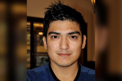 Fabian Rubio Electrical engineering junior