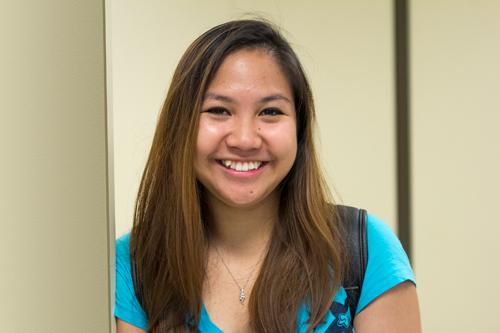 Roslynn Goce Biomedical sciences sophomore
