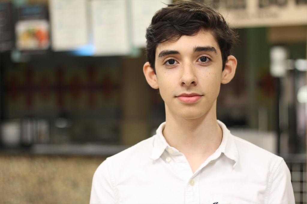 Enrique Contreras Manufacturing engineering freshman
