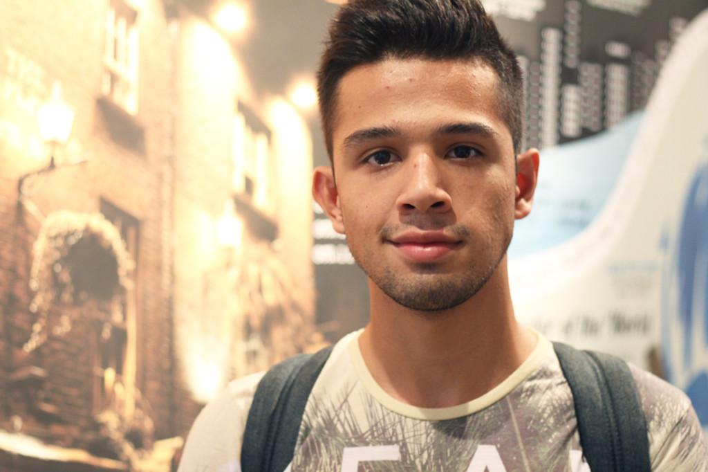 Alex Anguiano Mass communication freshman