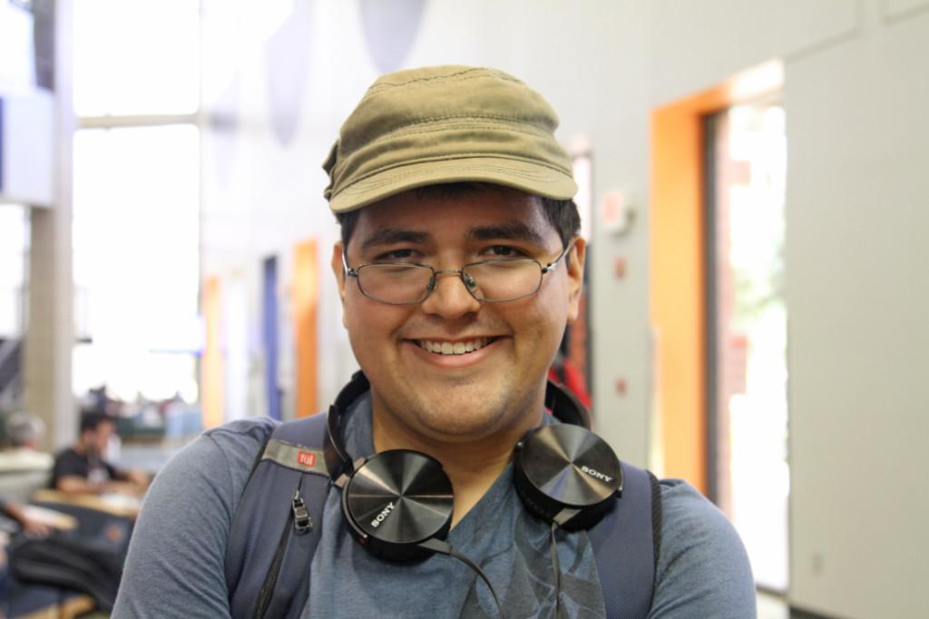 Fabian D. Gonzalez Psychology junior